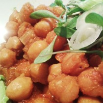 Slow-cooker chana masala, from Cooking in Westchester